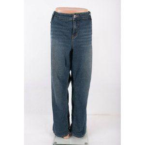 Torrid Womens Jeans Straight Bootcut Sz 28 Blue